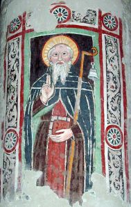 Columbanus_at_Bobbio