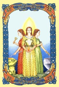 Brigid, a triple deity